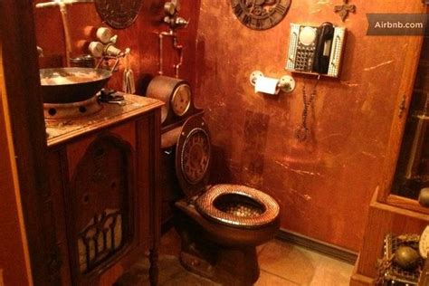 17 Best Images About House Steampunk Bathroom On