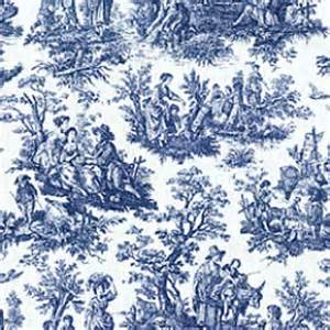 Amy Butler Bedding Waverly Rustic Toile Navy Blue White Toile Home Decorating