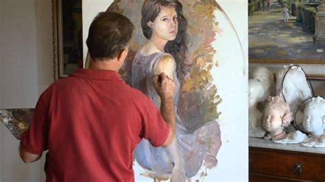 imagenes para pintar oleo manuel dominguez pintando un retrato a oleo paso a paso