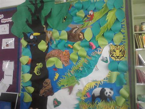 Wall Mural Nursery the rainforest classroom display photo photo gallery