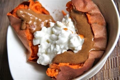 Sweet Potato And Cottage Cheese by Wiaw Doing What Works Running With Spoons