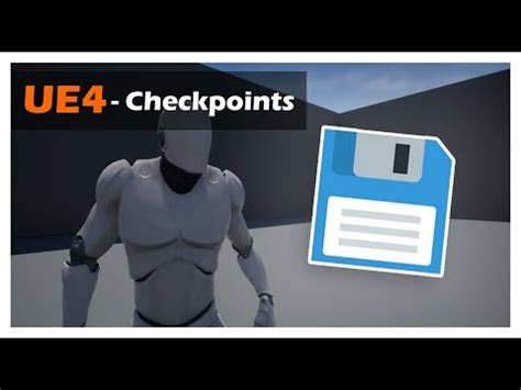 unreal engine  tutorial creating  simple checkpoint