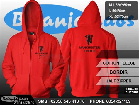 Kaos Distro Manchester United 01 jaket manchester united jaketmu01 baju kaos distro