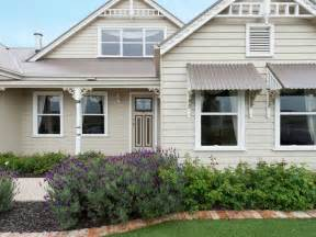Cost Of Exterior Painting - neutral painted queenslander home exterior inspirations paint