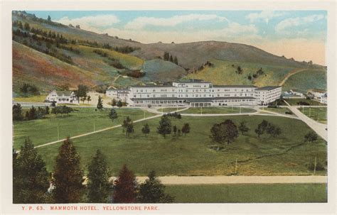 Mammoth Springs Hotel And Cabins Yellowstone National Park Wy by Mammoth Springs Hotel Cabins Yellowstone Insider