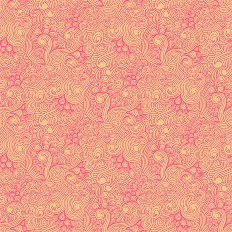 Pattern Yellow Pink | yellow and pink swirled pattern vector free download