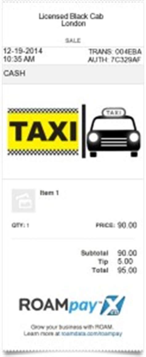 receipt templates companies | expressexpense custom