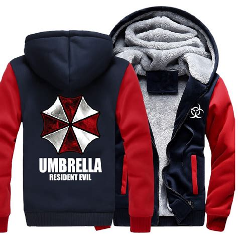 Jaket Hoodie Zipper Winter Is Coming 313 Clothing ᗐusa size ξ resident resident evil umbrella