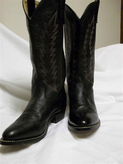 beautiful s black western style cowboy boots ebay