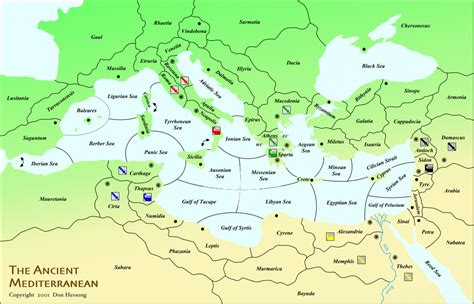 ancient mediterranean sea map ancient mediterranean map