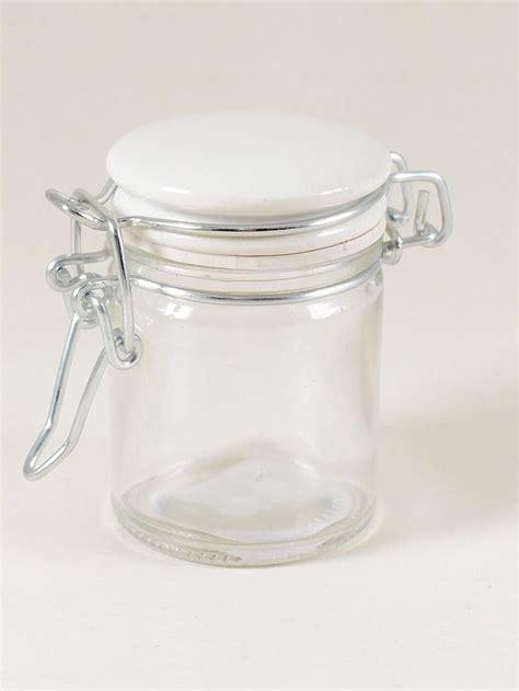 vasi ermetici vetro barattolo vetro bomboniera chiusura ermetica tappo