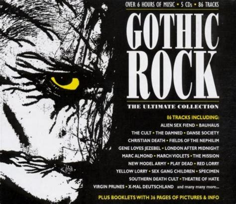 Rok Gotik rock cd covers