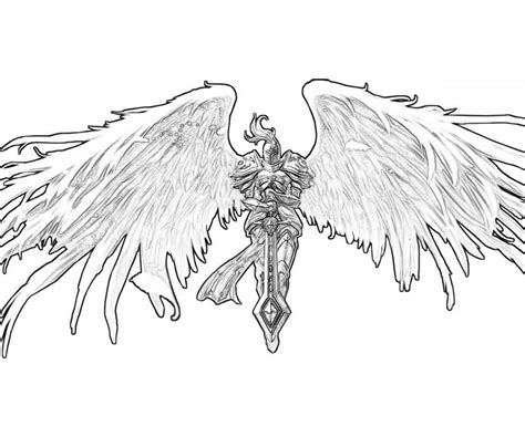 coloring pages dark angel free anime dark angel coloring pages