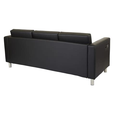 sofa with charging station osp atlantic 3 seat sofa with charging station atwork