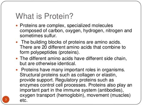 protein nutrition definition test for protein quantification