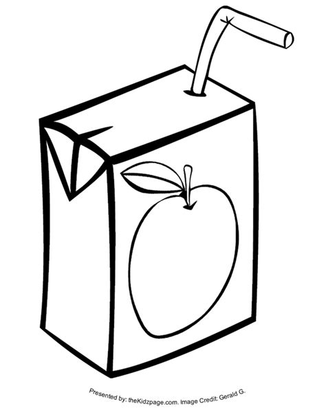 printable box art juice box free coloring pages for kids printable