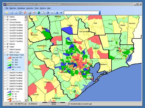 texas school districts map school district map houston swimnova