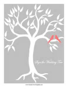 Wedding Family Tree Template by Wedding Bird Tree Template