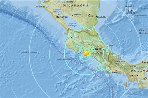 earthquake costa rica magnitude 6 5 quake hits costa rica chemainus valley courier