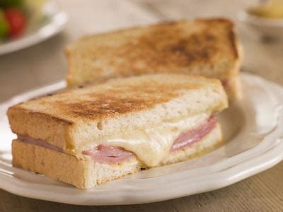 How To Make Grilled Cheese Sandwich In Toaster Ham And Cheese Melt