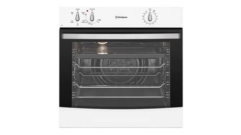westinghouse kitchen appliances westinghouse 60cm fan forced electric oven white ovens