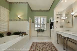 bathroom wallpaper border ideas bathroom rug