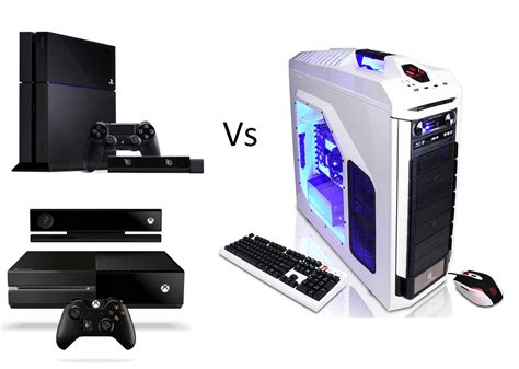 xbox one vs ps4 console pc vs console the never ending war gadgetynews