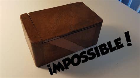 Fabriquer Une Boite En Bois 4665 by Fabriquer Une Boite Impossible A Ouvrir