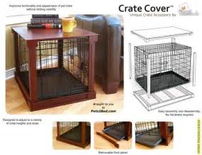 Build dog crate cover woodworking projects amp plans