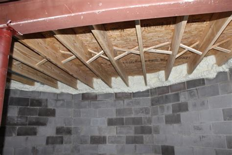 basement joist how to seal up your new home don t forget about these