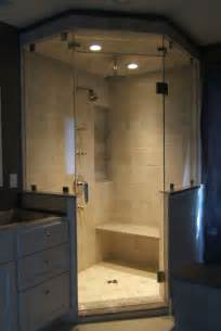 neo angle frameless shower doors