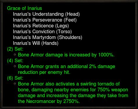 bone setter definition content guide first look necromancer set legendary