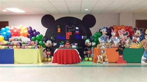 Mickey Mouse Clubhouse 1st Birthday Decorations by Mickey Mouse Clubhouse Birthday Ideas Photo 13 Of