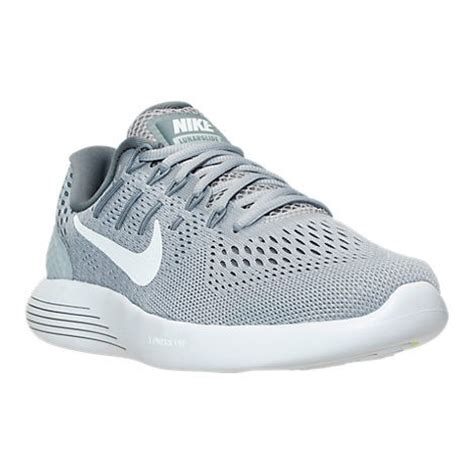 nike grey and white running shoes nike lunarglide 8 s running shoe wolf grey white