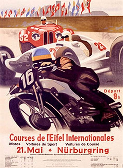 Isle Of Tt Circuit E Cafe Racer 59 Ton Up Ahrma 17 best images about vintage motorcycle posters on