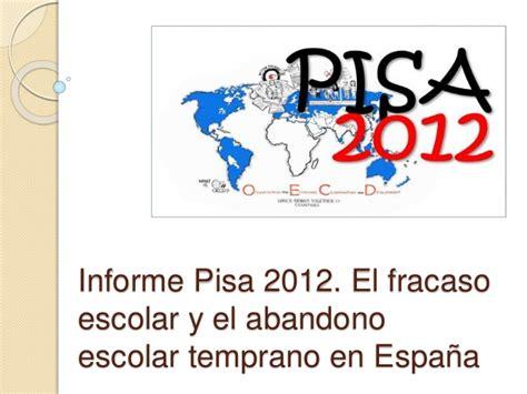 informe pisa 2012 informe pisa 2012