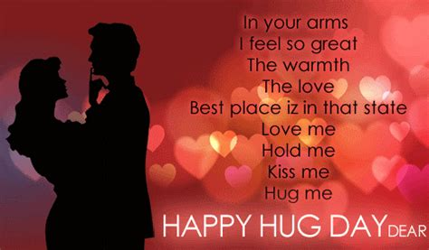 best happy hug day sms and message wishes hug day 2015