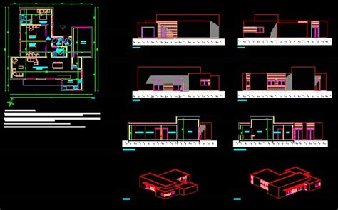 plan maison format dwg gratuit plan dwg maison moderne gratuit