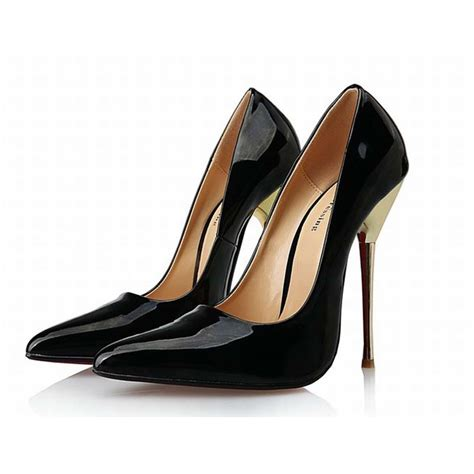 metal stiletto high heels plus size 40 49 metal stiletto high heels shoes