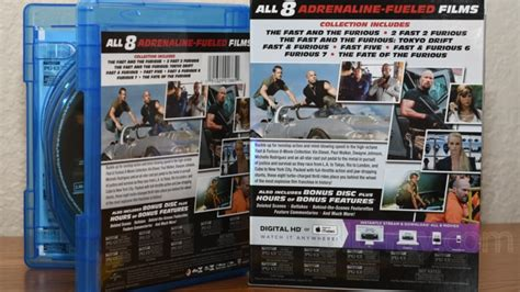 fast and furious 8 blu ray fast and furious 8 movie collection blu ray