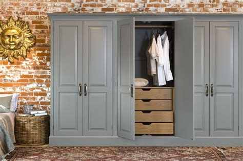 Ideas For Built In Wardrobes by White Wooden Custom Made Built In Wardrobe With Multi