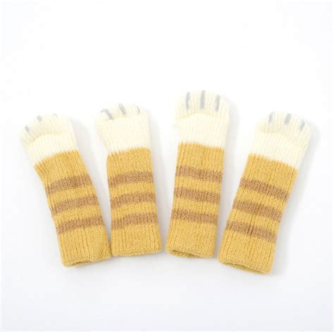 Chair Socks by Cat Paw Socks For Chairs Are Adorable And Save Your Floor