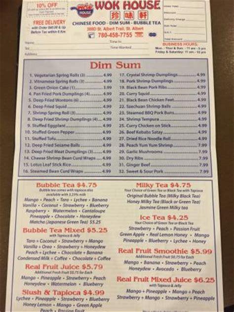 wok house menu picture of wok house restaurant edmonton tripadvisor