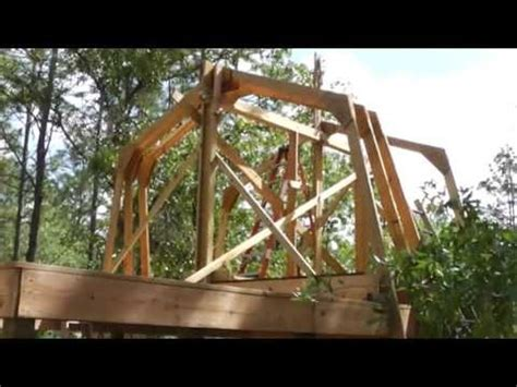 Shed Home Floor Plans raising homemade gambrel barn trusses by yourself no