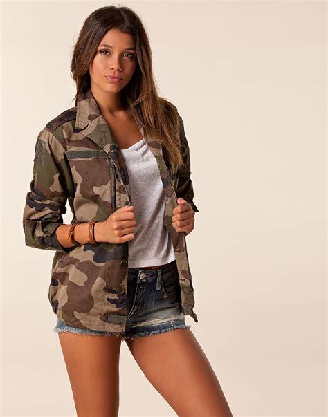 Treilli Militaire Femme by Veste Militaire Femme