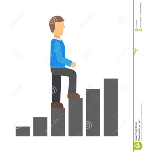 Byu Mba Career Tracks by Career Track Vector Illustration Stock Vector Image