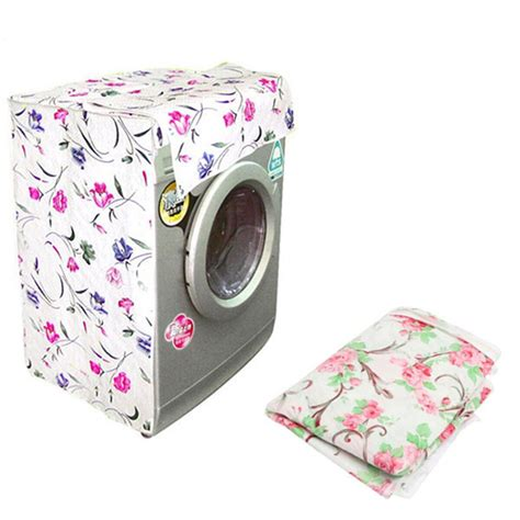 Washing Machine Dust Cover waterproof washing machine zippered top dust cover