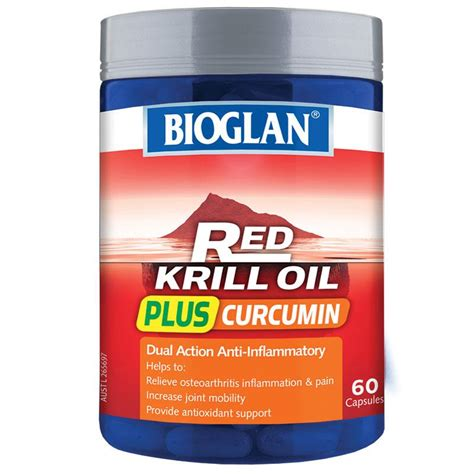buy bioglan krill plus curcumin 60 capsules at chemist warehouse 174