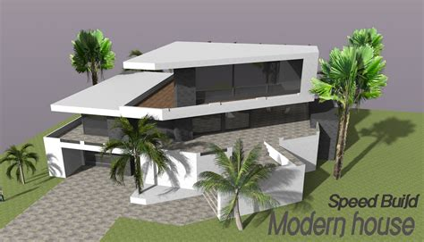 house design sketchup youtube google sketchup speed building modern house youtube