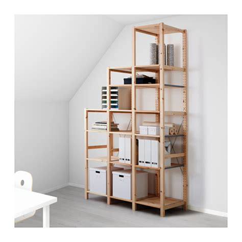 regal ypperlig ivar 3 sections shelves ikea